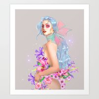 Lily Pink Art Print