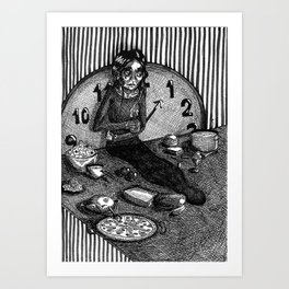 THE FASTING SONG Art Print