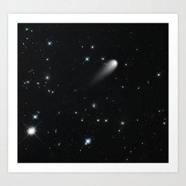 Galaxy: STArS & Comets Art Print