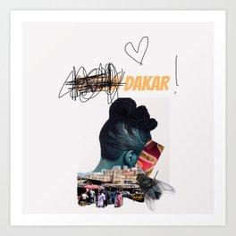 The dakar Vibes by SRK Art Print