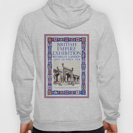 1924 British Empire Exhibition Wembley London Hoody