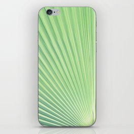 vegetal peacock iPhone Skin