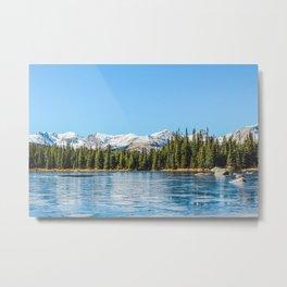 Red Rock Lake Metal Print