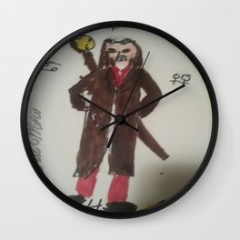 The Time Wizard Wall Clock