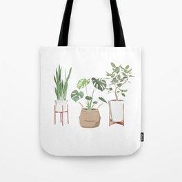 Plant Babies Tote Bag