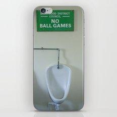No Ball Games iPhone & iPod Skin