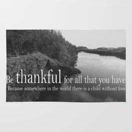 Be Thankful Rug