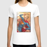 supergirl T-shirts featuring Supergirl by kody