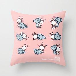 Kowawa x Bunbun Throw Pillow