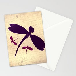 Dragonflies Love Letter Stationery Cards