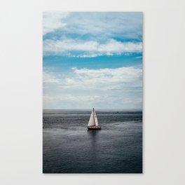 Lake Ontario - Sailboat Canvas Print