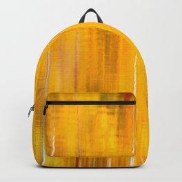 Autumn colors reflecting on the lake surface #decor #buyart #society6 Backpack