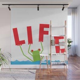 A Balancing Act Wall Mural
