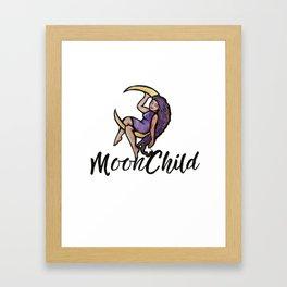 MoonChild Framed Art Print