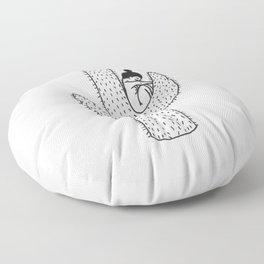Prickly Floor Pillow