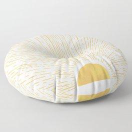 Sunny Ways Floor Pillow