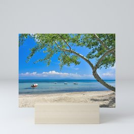 Beautiful Beach Vacation Mini Art Print