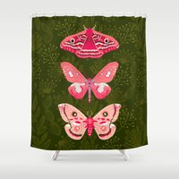 Lepidoptery No. 7 by Andrea Lauren  Shower Curtain