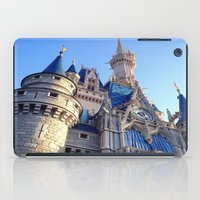 castle iPad Cases featuring Castle by Jillian Stanton