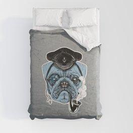 Sailor Pug Comforters