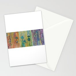 Artist Brushes Stationery Cards