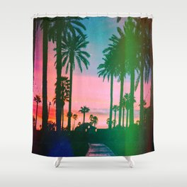 Moving Further Away Shower Curtain
