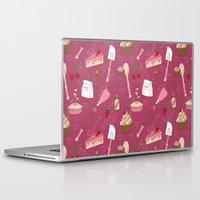 baking Laptop & iPad Skins featuring Shaking n' Baking by Valentina Cariel