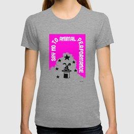 Say NO to Animal Performance – Rabbit T-shirt
