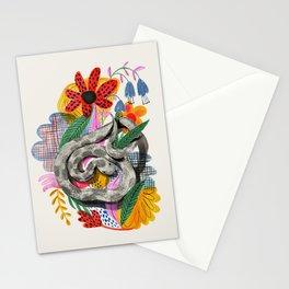 Fancy Snake Stationery Cards