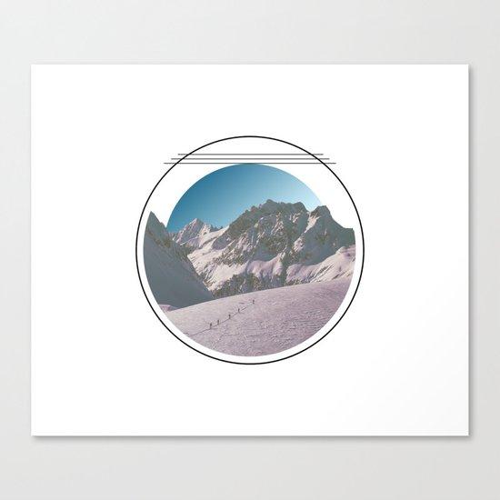 Climbing the Mountain Canvas Print