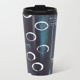 Abstract with Circles Travel Mug