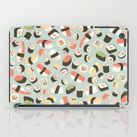 novelty iPad Cases featuring Yummy Sushi! by Eine Kleine Design Studio