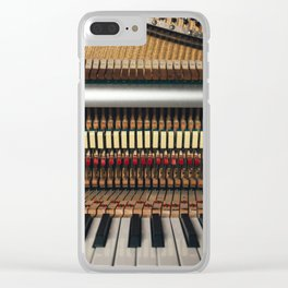 Piano inside Clear iPhone Case