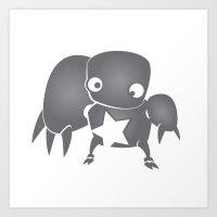 minima - slowbot 003 Art Print