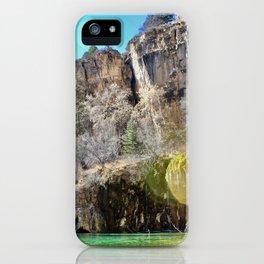 Hanging Lake II iPhone Case
