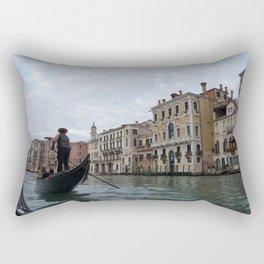 A Gondola Ride With Luca in Venice Rectangular Pillow