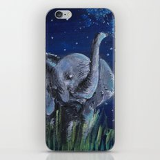 Elephant II iPhone & iPod Skin