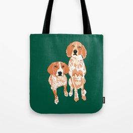 Gracie and George Tote Bag