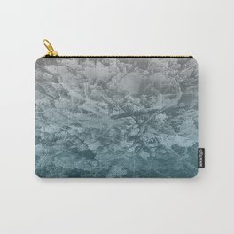 Abstract blue painting Carry-All Pouch