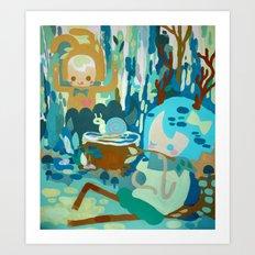 Forest Normal Art Print