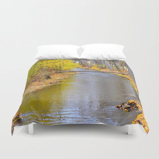 Autumn Stream II Duvet Cover