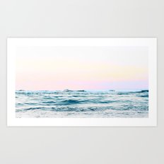 Dreamy Ocean #society6 #decor #buyart Art Print