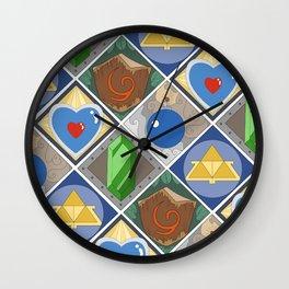 Link's Pattern Wall Clock
