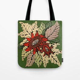 Autumn Flowers Tote Bag