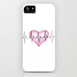 Heart Beat iPhone Case