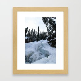 this world is not a cold, dead place Framed Art Print