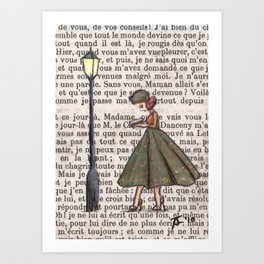 Paris, 1959 - Patrice Reads Obsessively, Sometimes To Her Own Detriment... Art Print