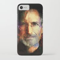 steve jobs iPhone & iPod Cases featuring Steve Jobs by turksworks