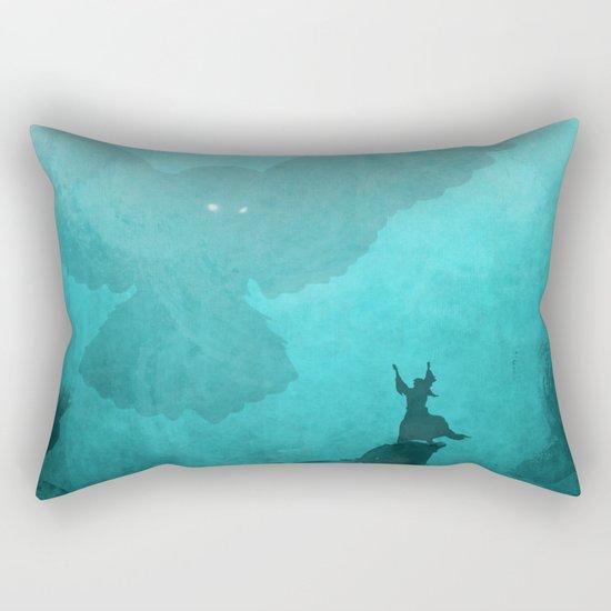 Owl Summoner Rectangular Pillow
