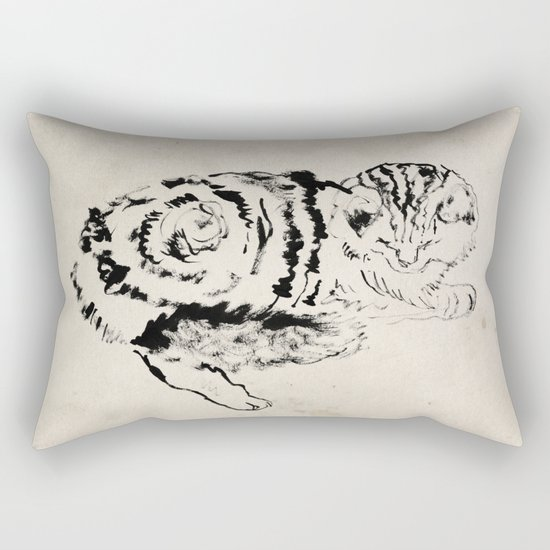 Harryhausen  Rectangular Pillow